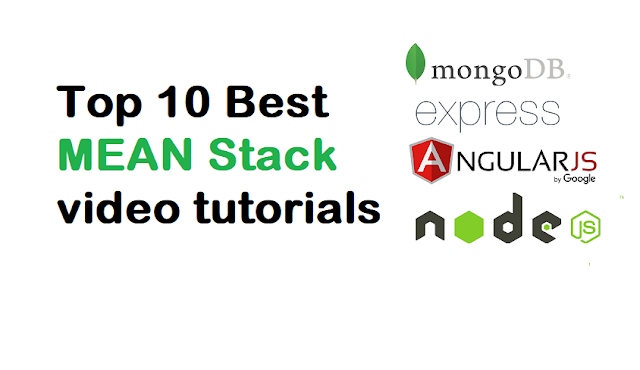 Top 10 Best MEAN Stack video tutorials