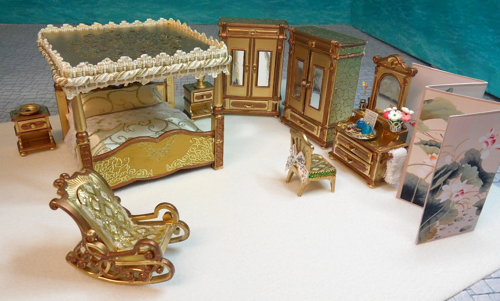 More furniture sets emma j 39 s playmobil for Playmobil living room 4282