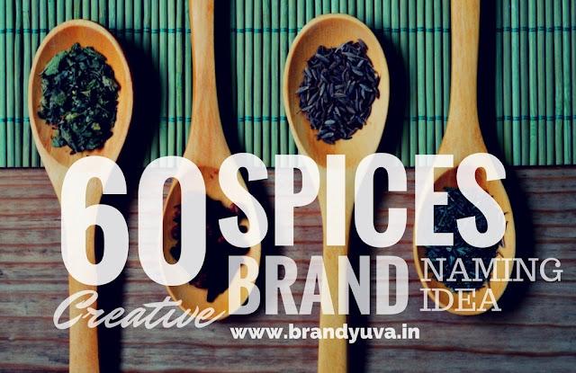 creative spices/masale brand names idea