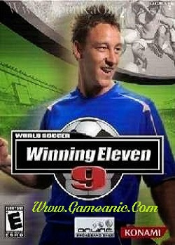 World Soccer Winning Eleven 9 Game Cover