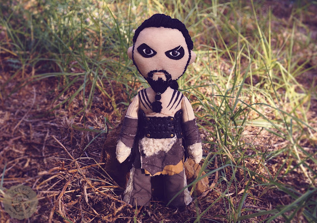 Khal Drogo art doll, inspired by Game of Thrones