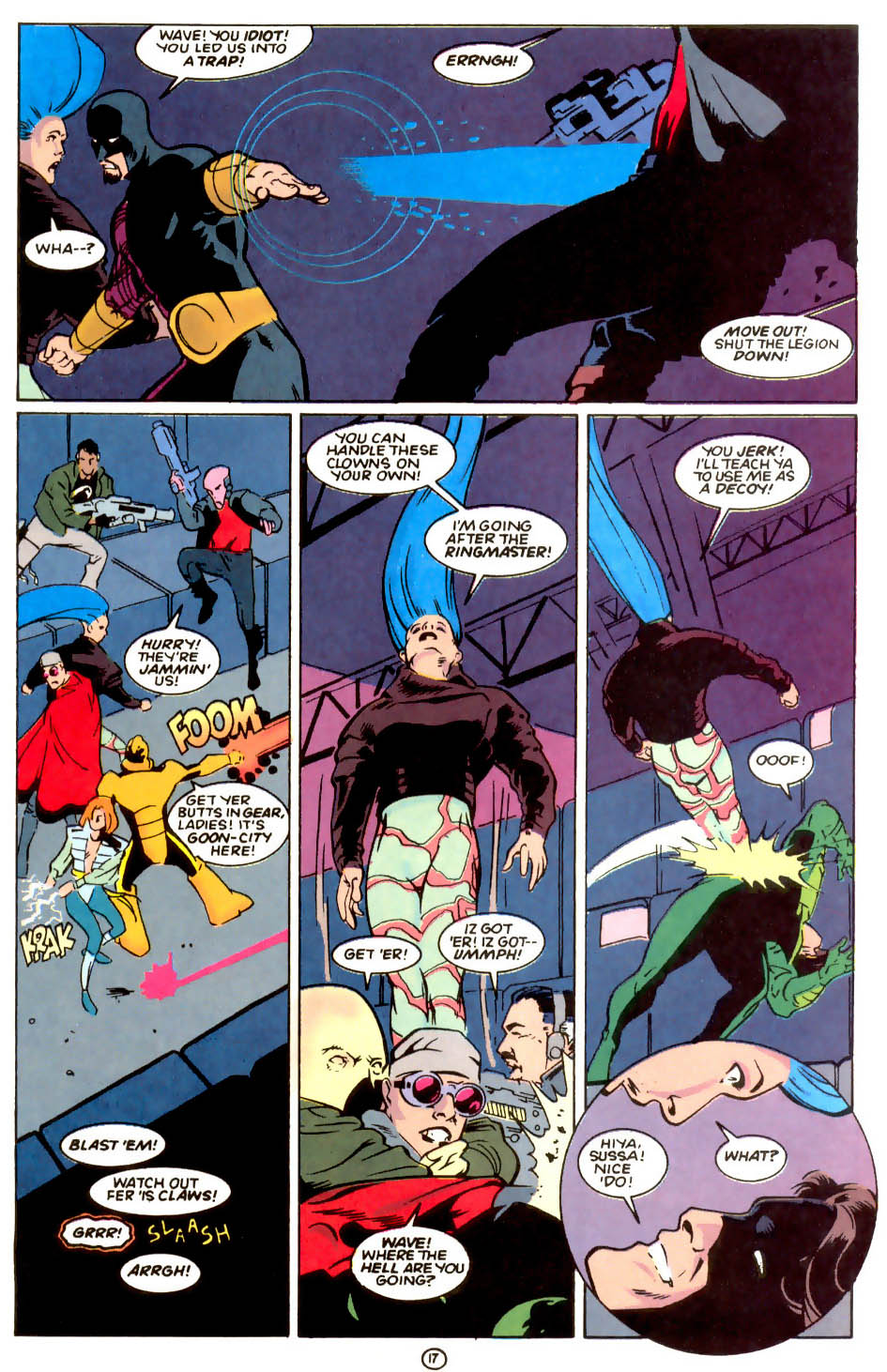 Legion of Super-Heroes (1989) 55 Page 16