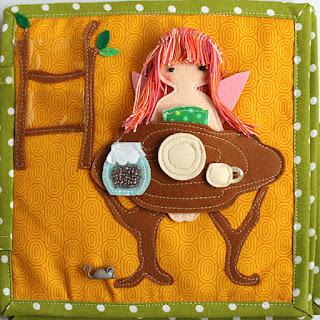 Fairy quiet book by TomToy