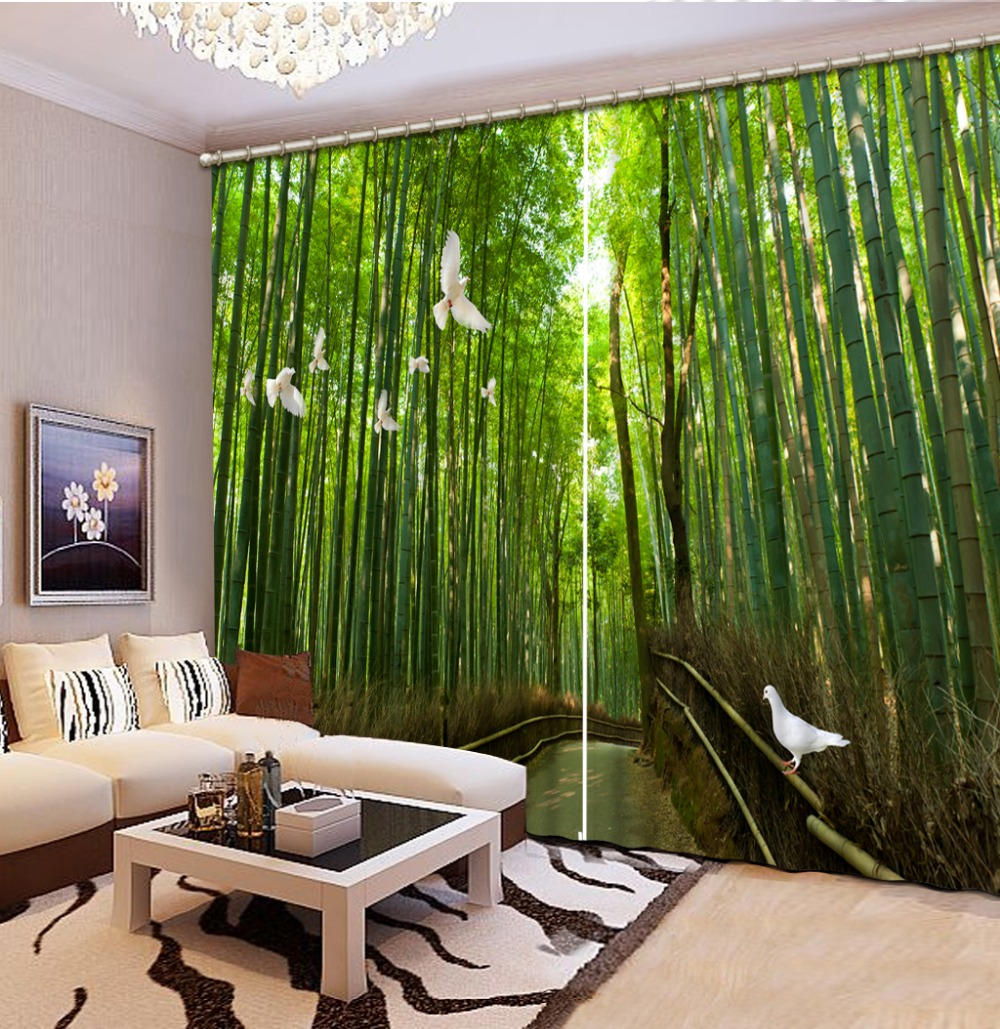 Living room 3d curtains designs for windows for Living room designs 3d