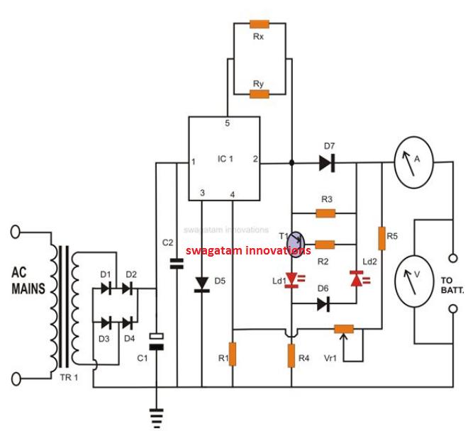 circuit so the external circuit sees a constant polarity figure