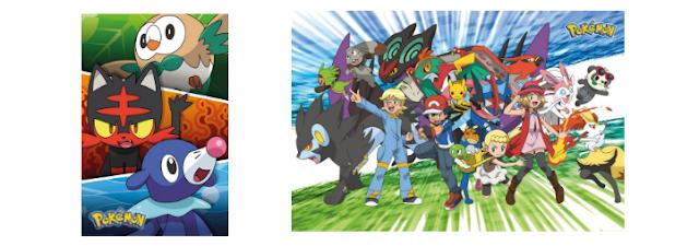 """[Recenzja] Plakaty z anime """"Pokémon"""""""