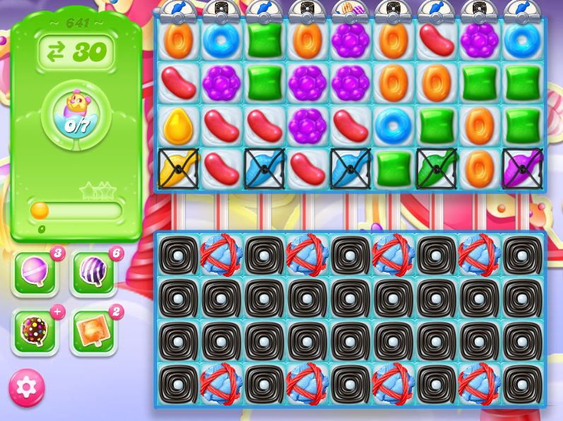 Candy Crush Jelly Saga level 641