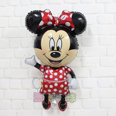 Balon Foil Karakter Minnie Mouse Jumbo