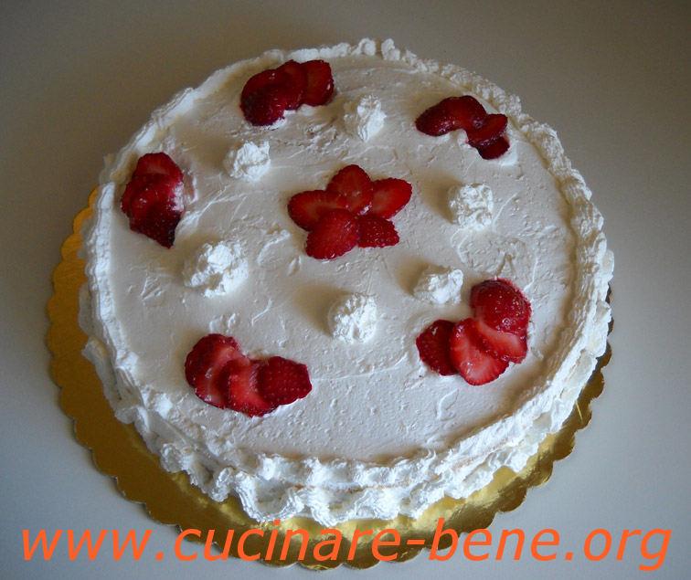Torta Panna E Fragole Cucinare Bene Ricette
