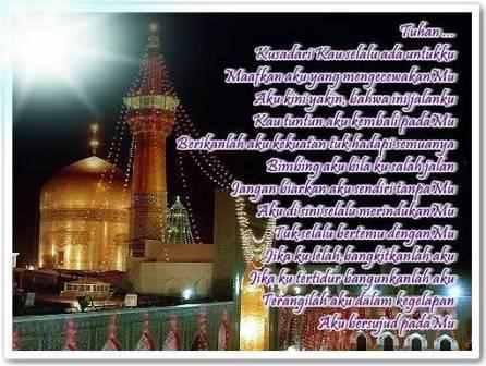 5 PUISI ISLAMI PEMBANGUN JIWA