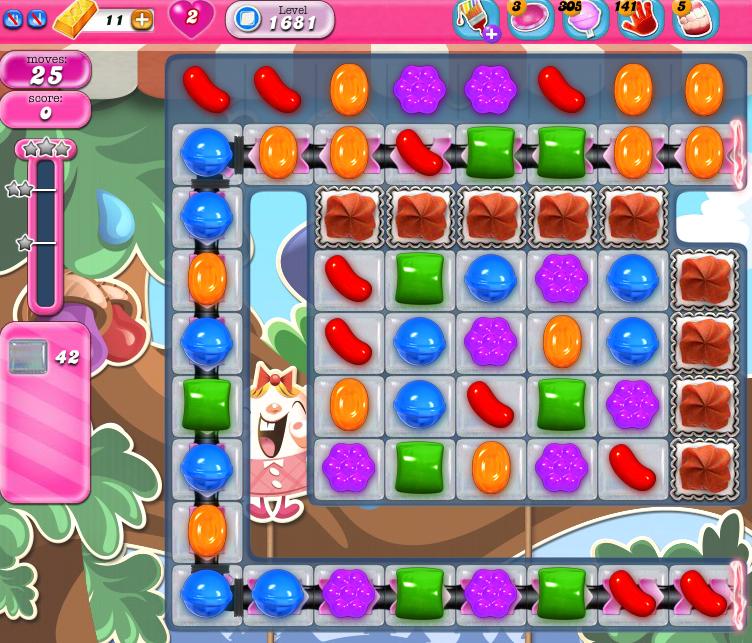 Candy Crush Saga 1681