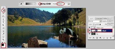 Membuat Efek Pantulan Bayangan di Air dengan Photoshop