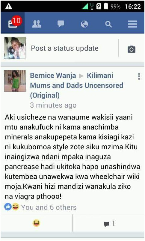 Kikuyu Lady Opens Her Servers To A Kisii Man And Regrets Kwani Banana Ni V Gr She Asks