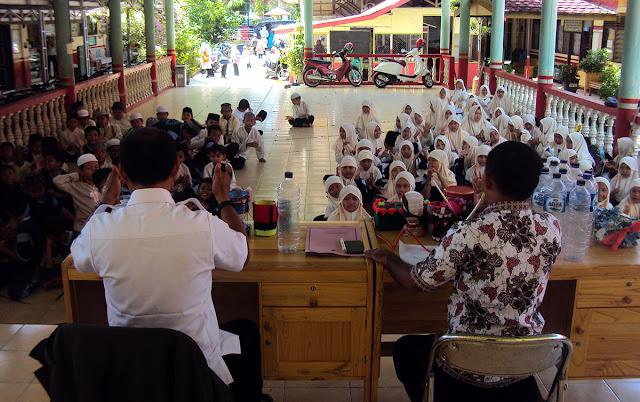 antusias peserta didik dalam pembelajaran LH