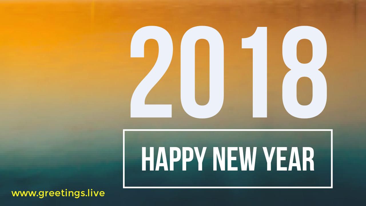 2018 New Year Wishes Greetings November 2017