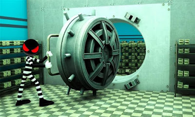 Stickman Bank Robbery Escape Apk Mod