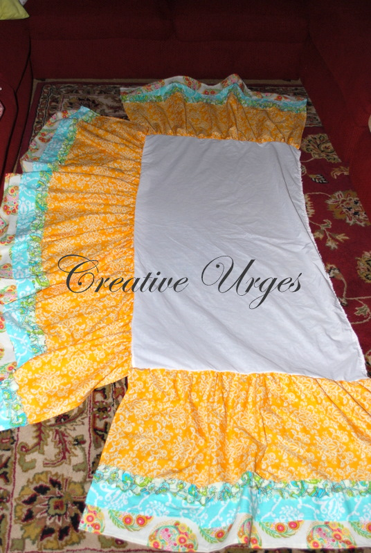 Creative Urges Creative Blogspot How To Make A Crib Skirt