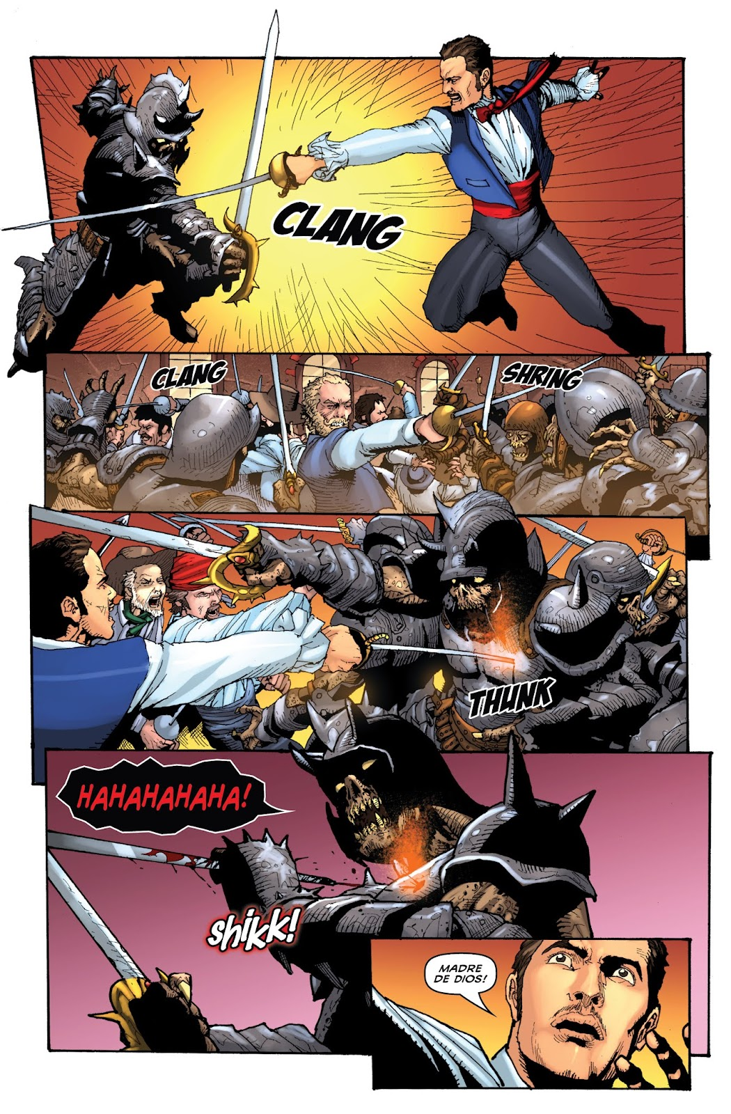 Zorro: Swords of Hell Issue #1 Page 9