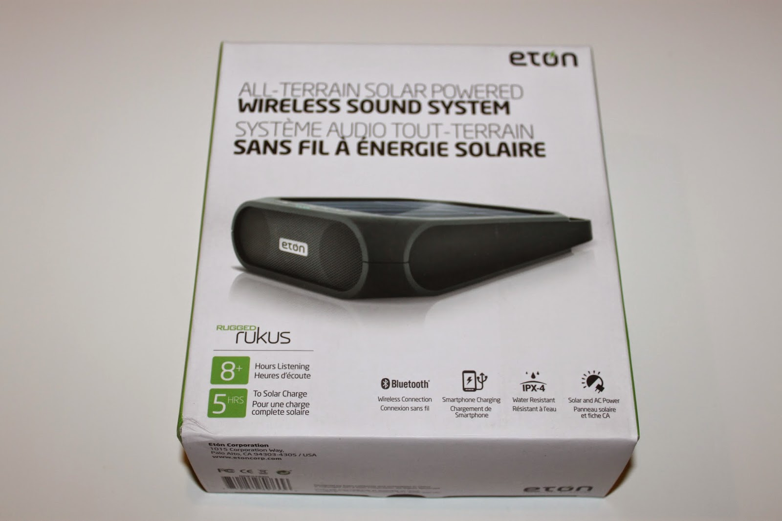 The Eton Rugged Ruckus Is Just That It Gives Great Functionality To Those On Go While A Portable Wireless Speaker System Charger As