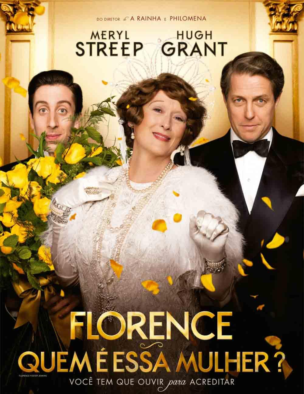 Florence: Quem é Essa Mulher? Torrent – BluRay 720p Legendado (2016)