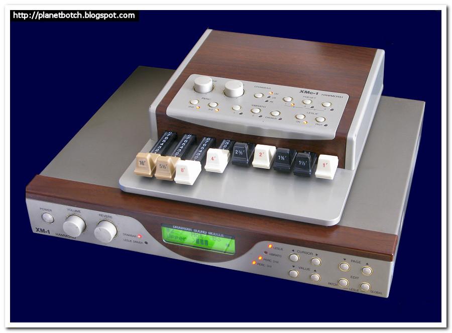 Hammond XM1 organ module and XMc1 controller