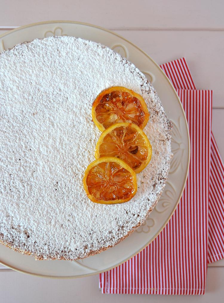 Torta de limón y queso crema