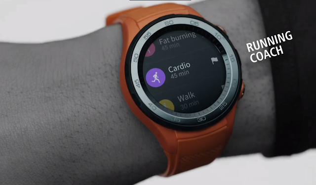 Huawei Watch 2 acts like a real running coach