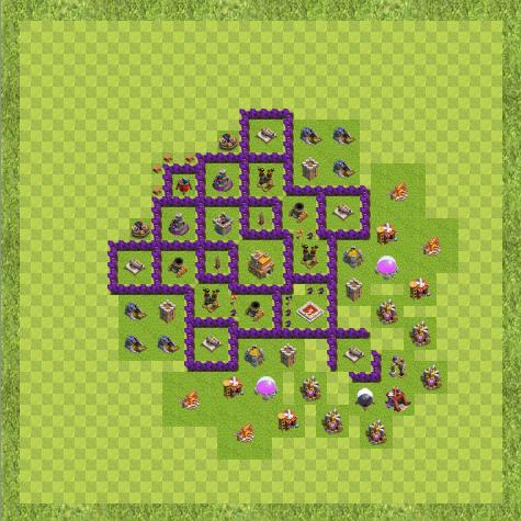 war base town hall level 7 by raphael lima cv de guerra th 7 layout - Layout Cv 4 Guerra