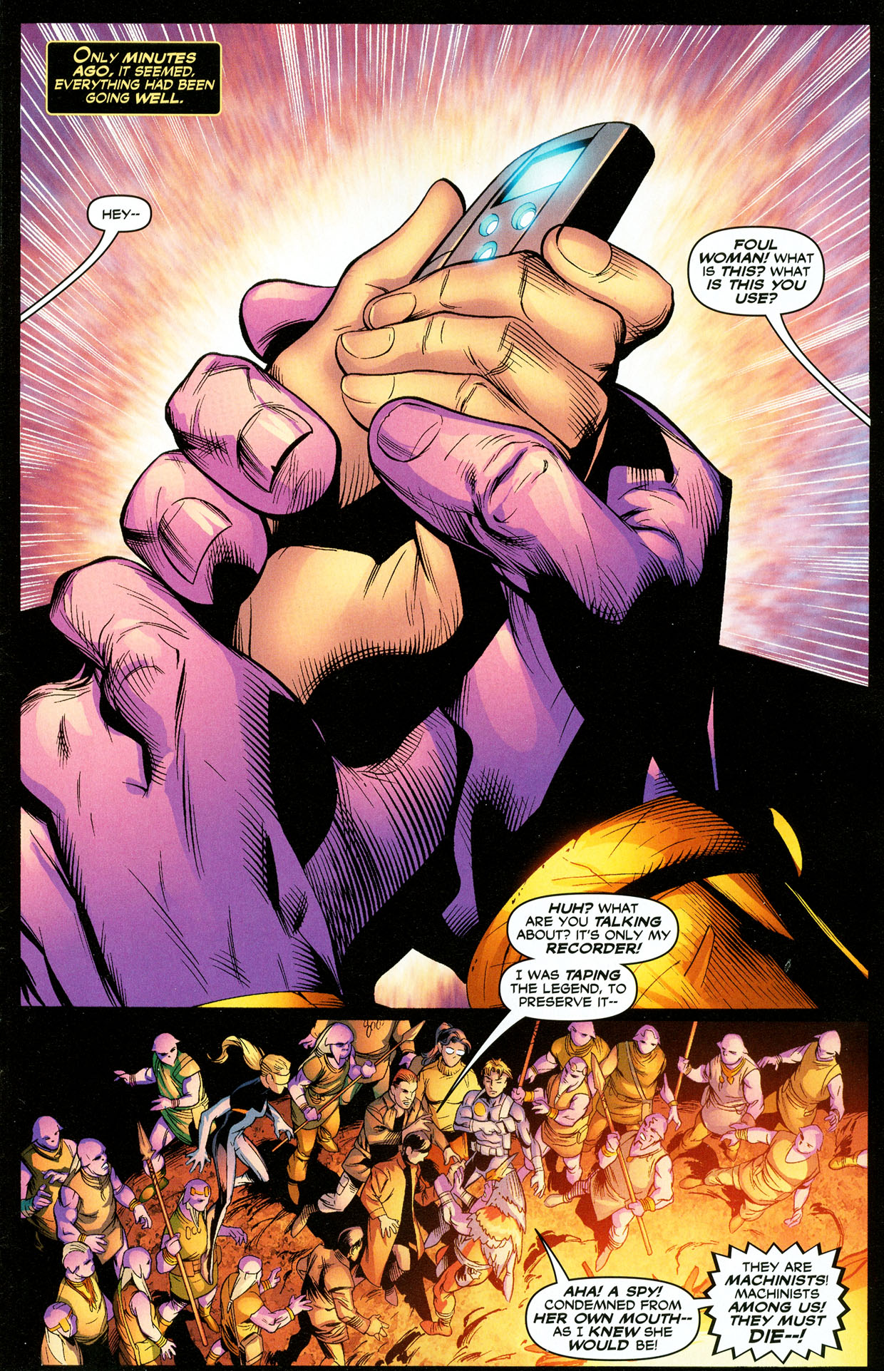 Read online Trinity (2008) comic -  Issue #33 - 3