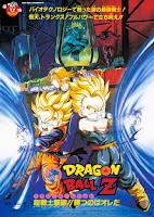 las tres películas protagonizadas por el viejo Broly, Moetsukiro!! Nessen - Ressen - Chōgekisen (1993), Kiken na futari! Super senshi wa nemurenai (1994) y Super senshi gekiha!! Katsu no wa ore da (1994)