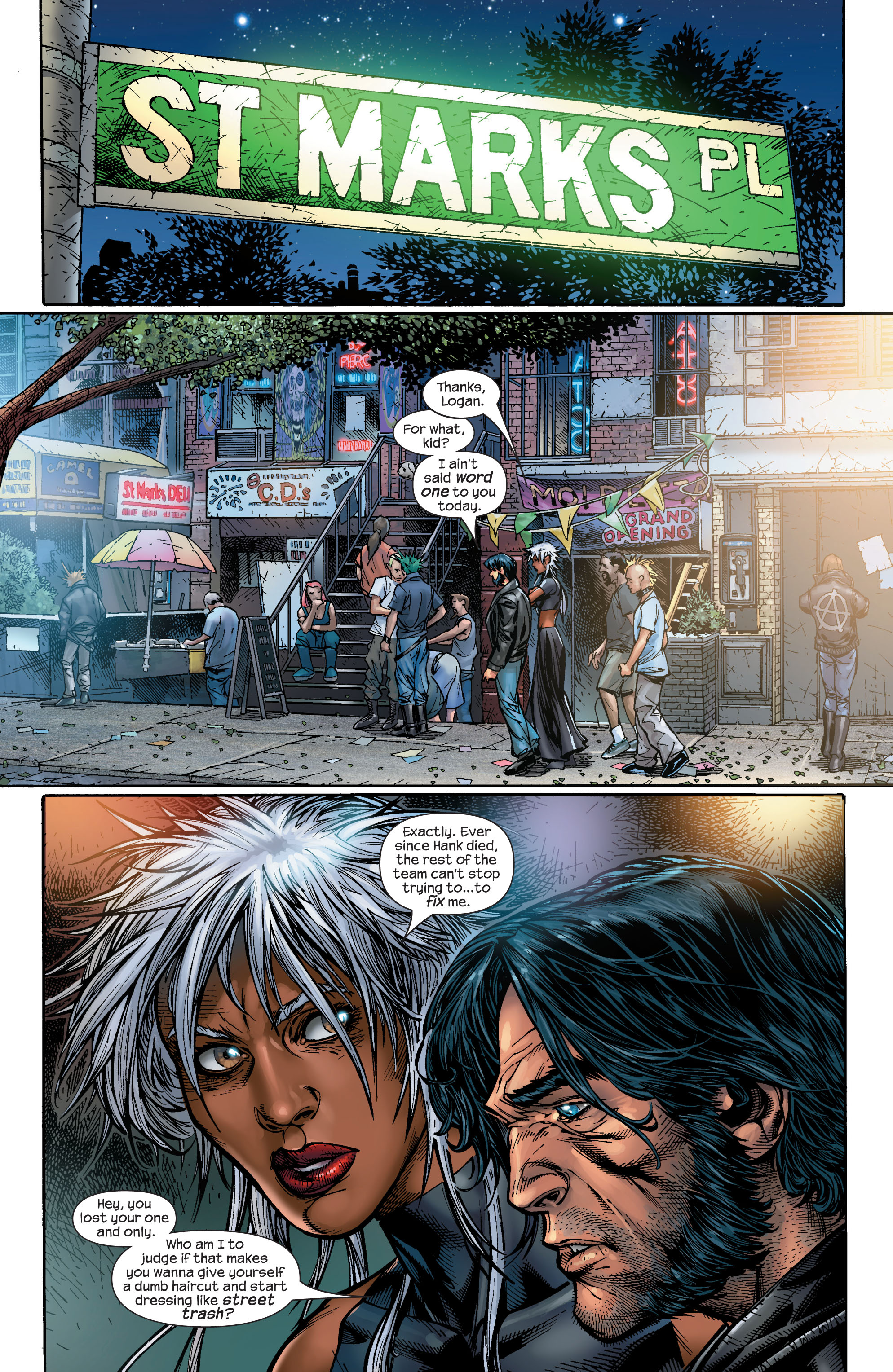Read online Ultimate X-Men comic -  Issue #48 - 16
