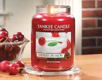 avis cherries on snow yankee candle, blog bougie, blog parfum, blog beauté