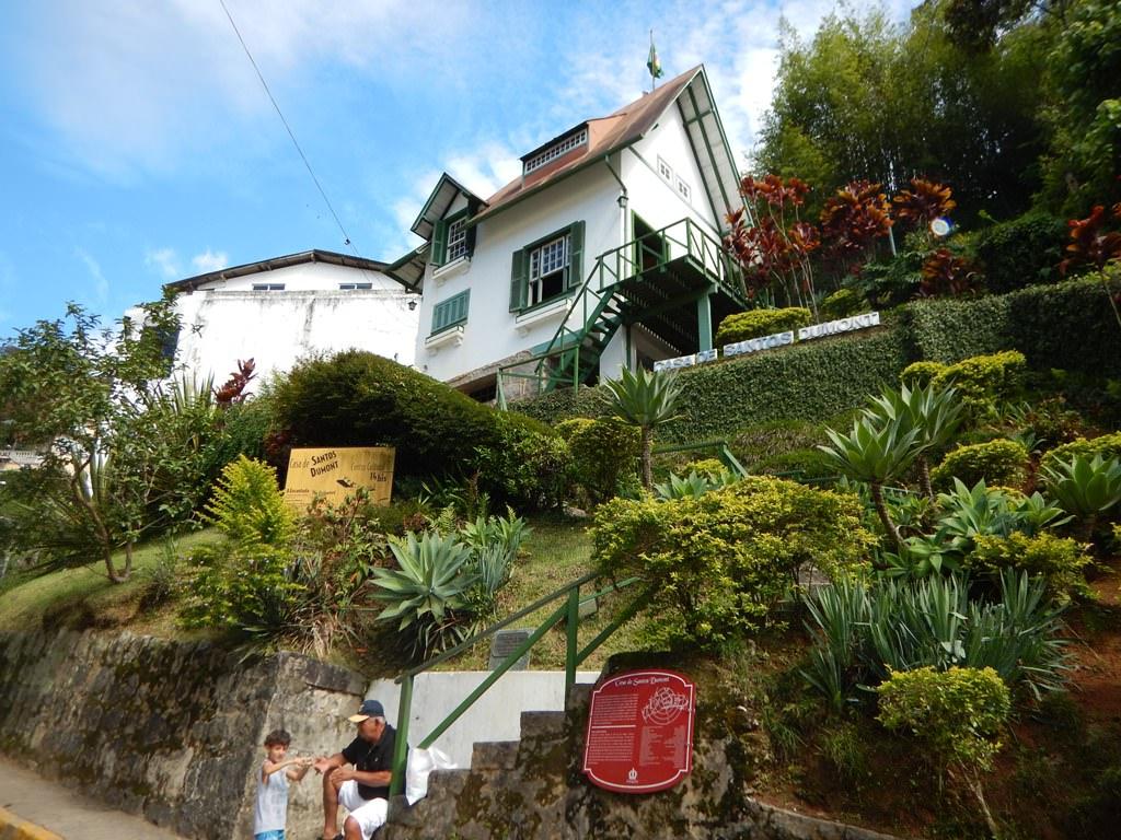 A Casa de Santos Dumont em Petrópolis