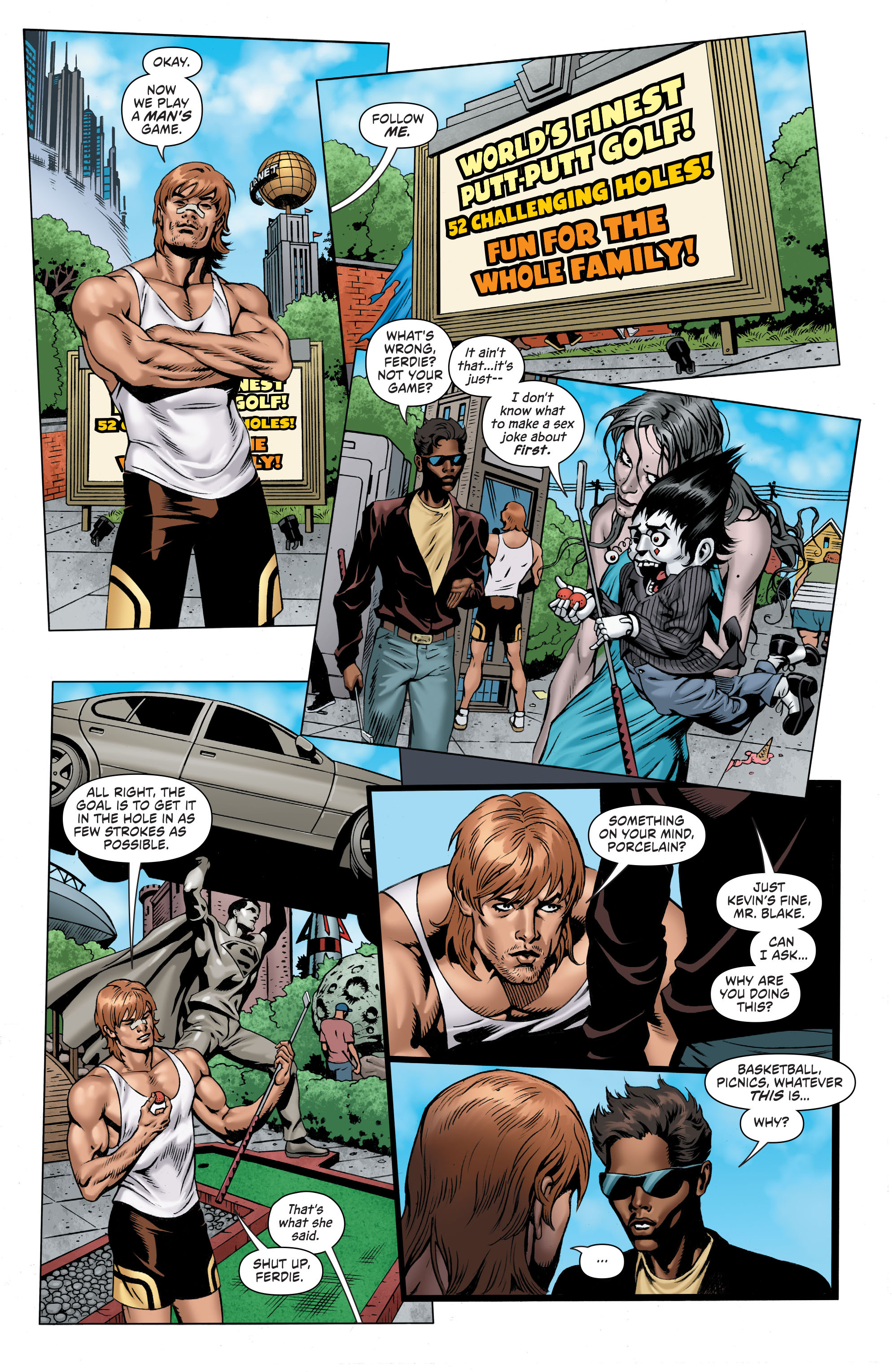 Read online Secret Six (2015) comic -  Issue #7 - 14