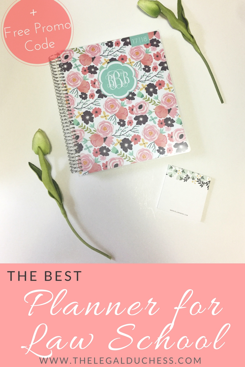 The Best Planner For Law School Free Promo Code The Legal Duchess