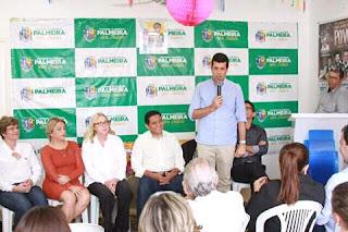 Presidente da AMA o prefeito Hugo Wanderley, esteve em palmeira dos índios junto com os prefeitos e secretários de saúde.