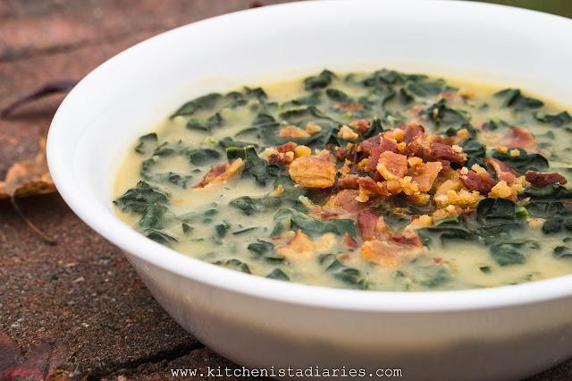 Kale & Potato Soup with Bacon