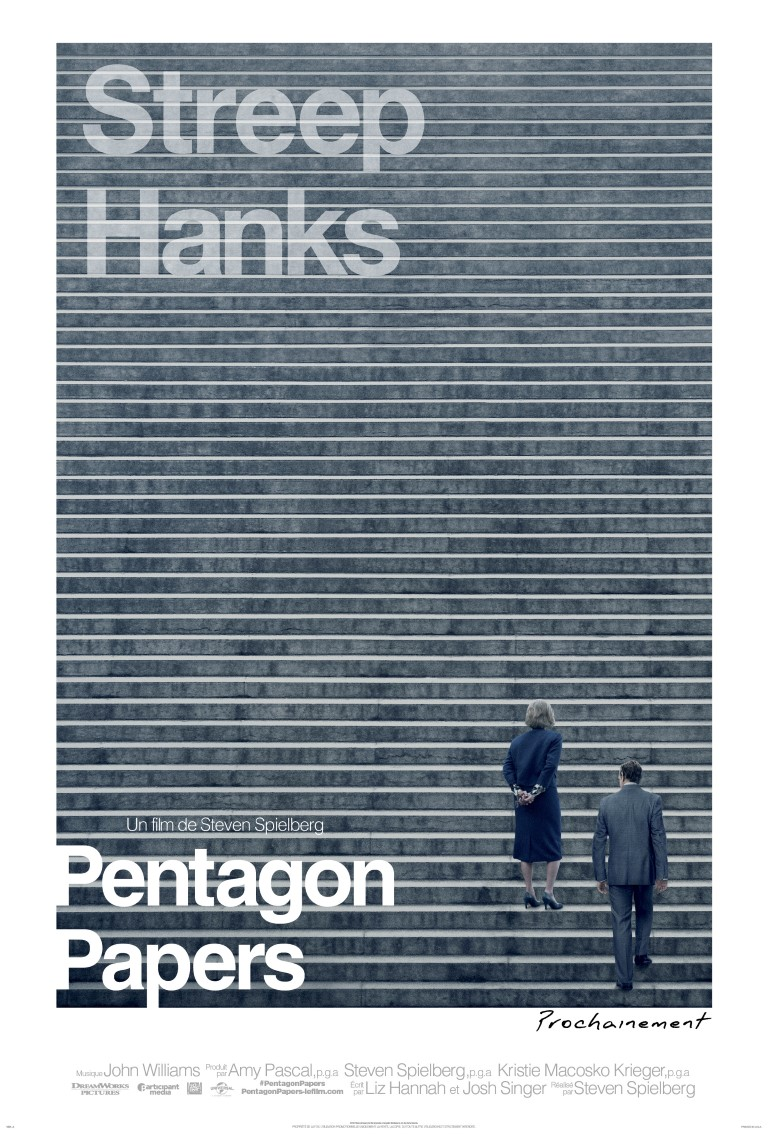 pentagon papers Today's newspapers wouldn't publish the pentagon papers tom hanks plays  washington post executive editor ben bradlee and meryl streep.