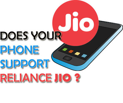 Reliance Jio Compatible Phones List