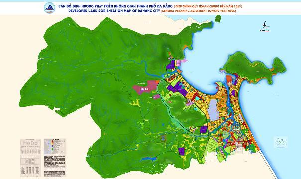 quy hoạch Đà Nẵng đến 2025