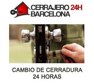 Cambio de Cerraduras Económico Barcelona