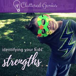 Blog With Friends, multiblogger posts based on a theme, this month's theme is Reflection. Lydia of  Cluttered Genius shares Identifying Your Kids' Strengths. | Presented on www.BakingInATornado.com