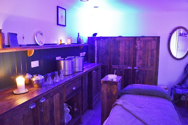 Lush Spa Treatment Room