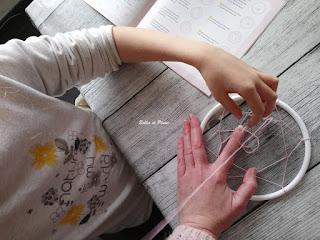 Bulles de Plume Kit Mes créations Attrape-rêves (Gründ)