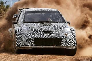 Toyota Yaris WRC Prototype 2017 Front