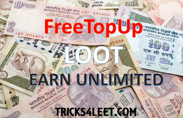 FreeTopUp [ Loot ]- { Earn unlimited }