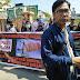 J Rusna Dituntut 18 bulan, 8 Lembaga Safe Migrant Demo di PN Batam