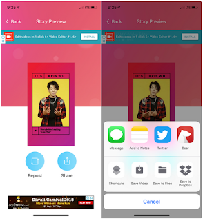 Cara Download Instagram Stories di iPhone