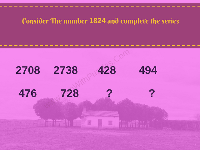 Finding Missing Numbers Riddle