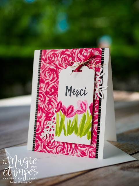 ensemble de cartes estivales avec le jeu expressions printanières Stampin' Up!